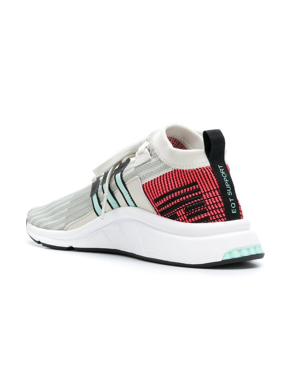 dd0d42f5dd7016 Adidas - Multicolor Eqt Support Mid Adv Sneakers for Men - Lyst. View  fullscreen