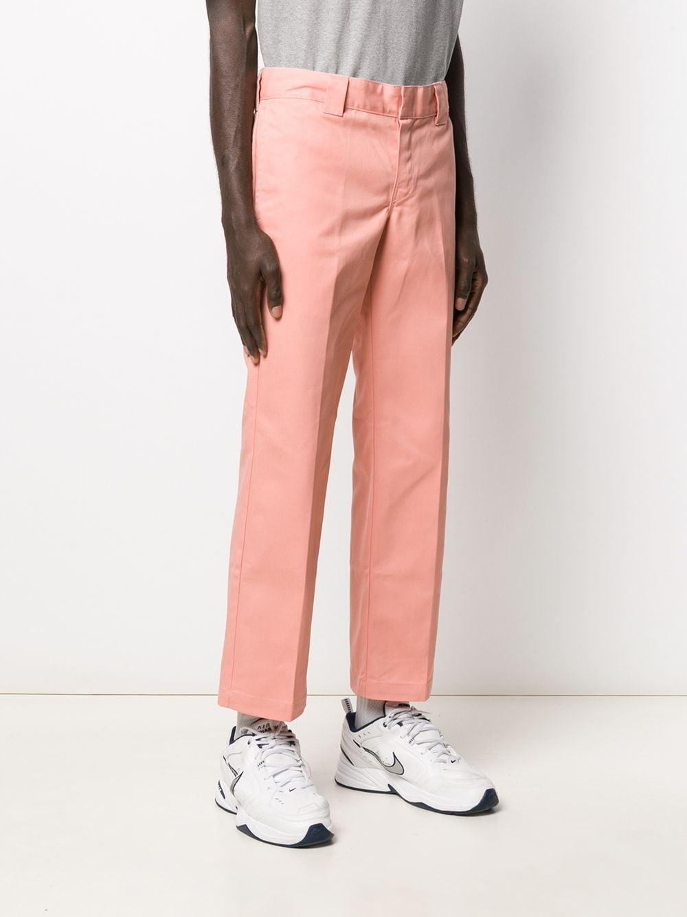 Dickies Construct Katoen Straight Pantalon in het Roze voor heren