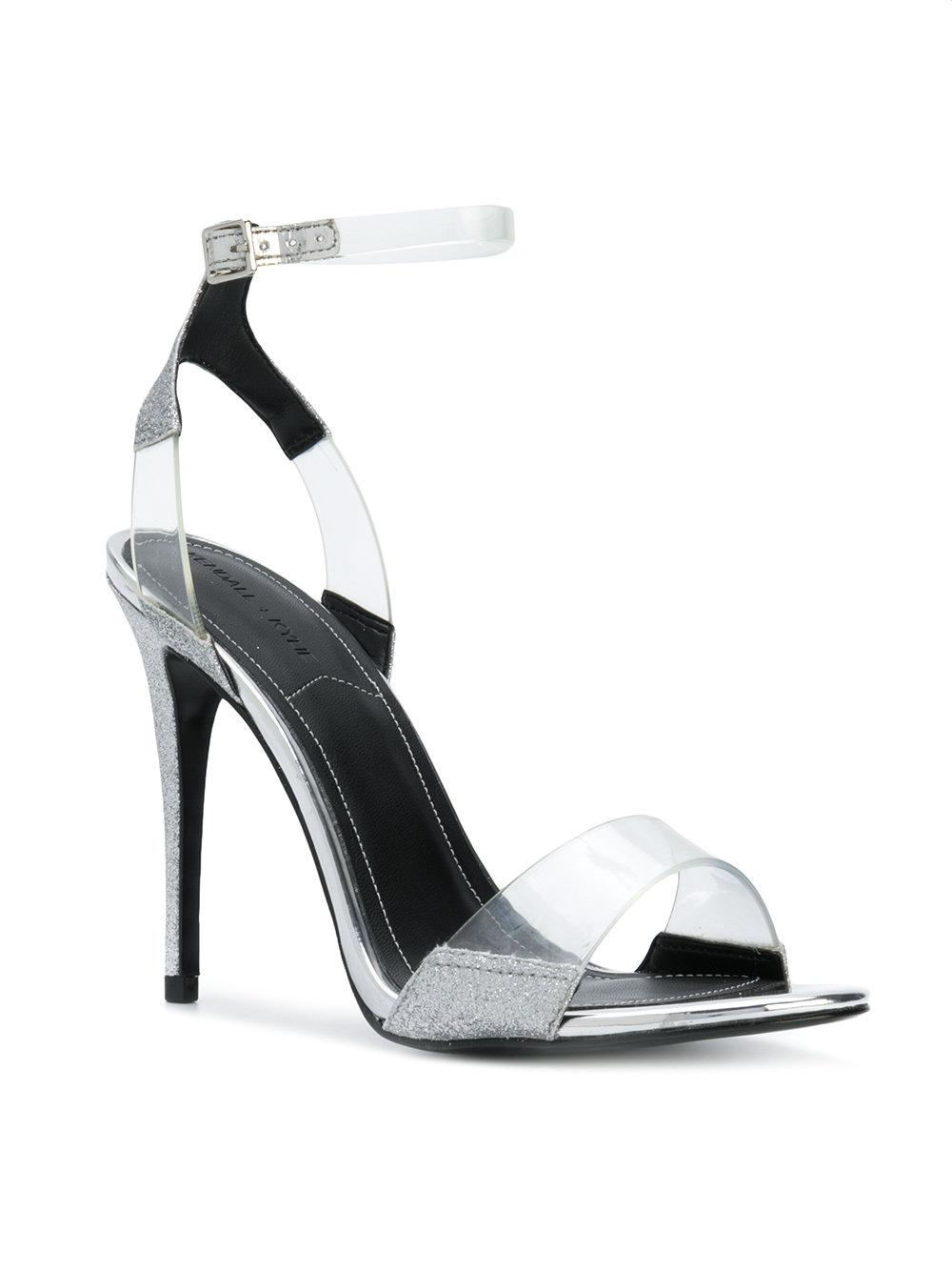 Kenya illusion sandals - Metallic Kendall + Kylie FpndTyVN
