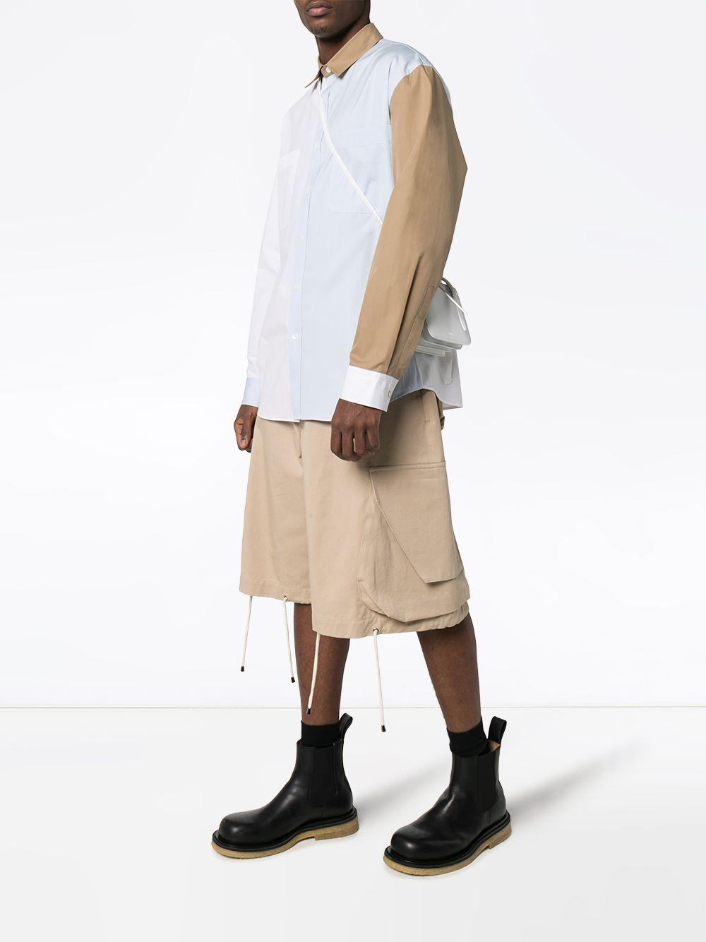 JW Anderson Overhemd Met Colourblocking in het Wit voor heren