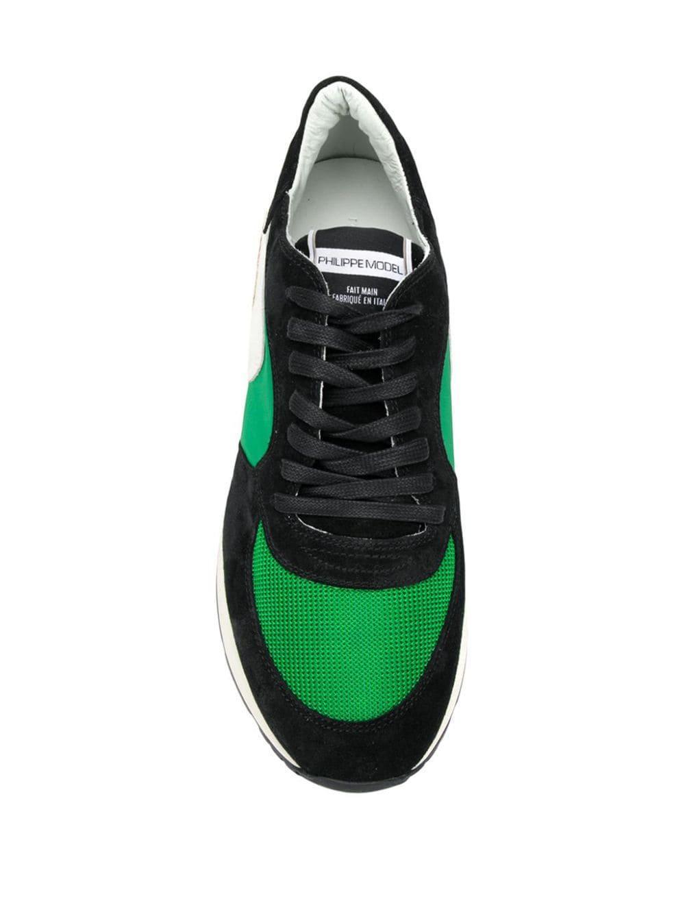 Baskets Montecarlo Philippe Model pour homme en coloris Noir Tw3C