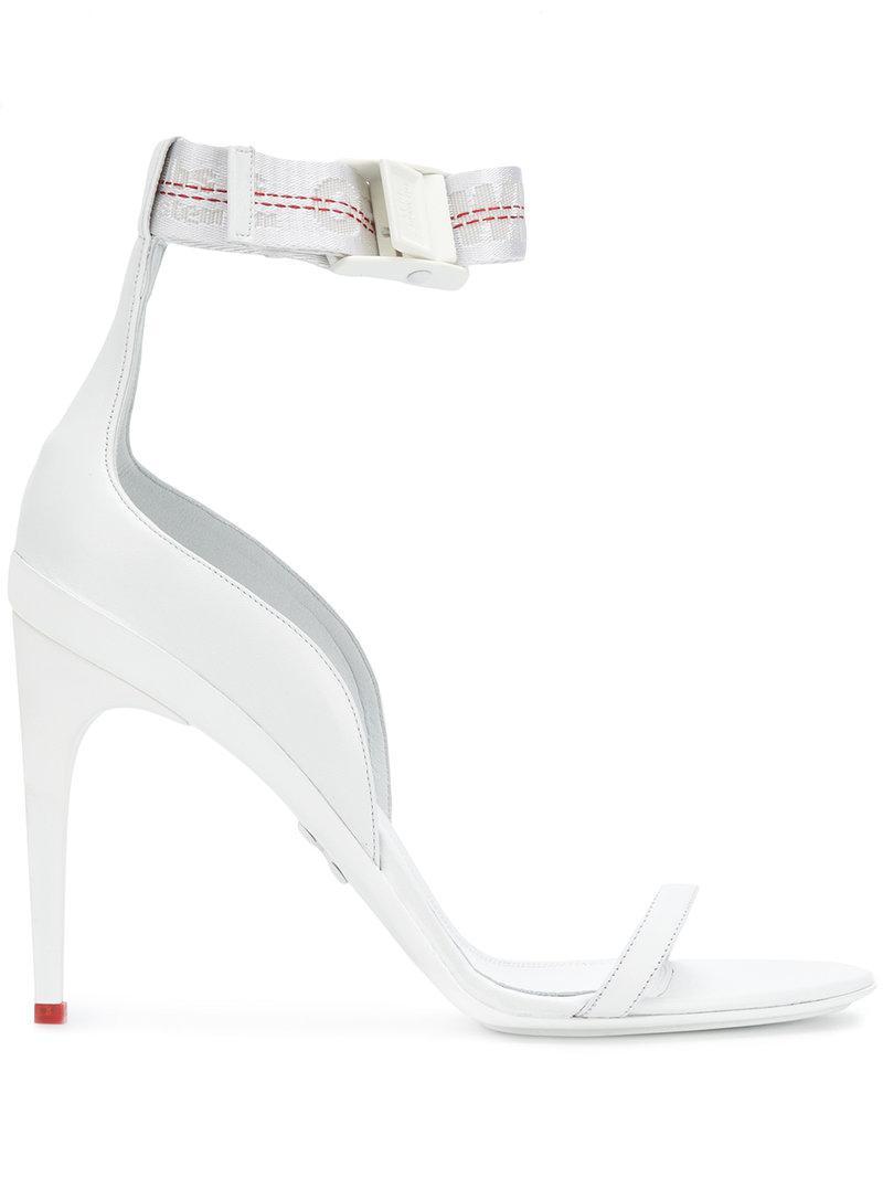 cda136dba Off-White c/o Virgil Abloh Industrial Sandals in White - Lyst