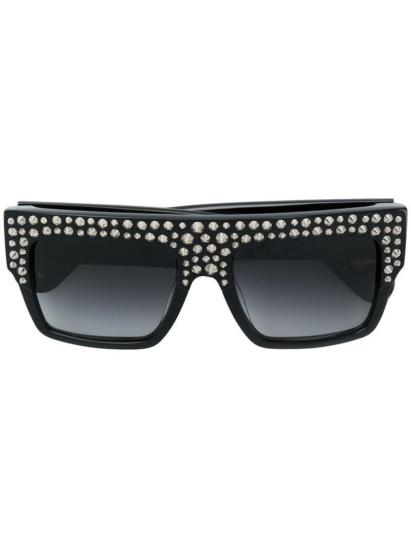 da4e6f016d2 Anna Karin Karlsson Mr 3am Sunglasses in Black - Lyst