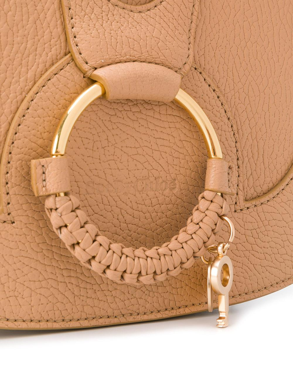 See By Chloé Cotton Hana Crossbody in Natural