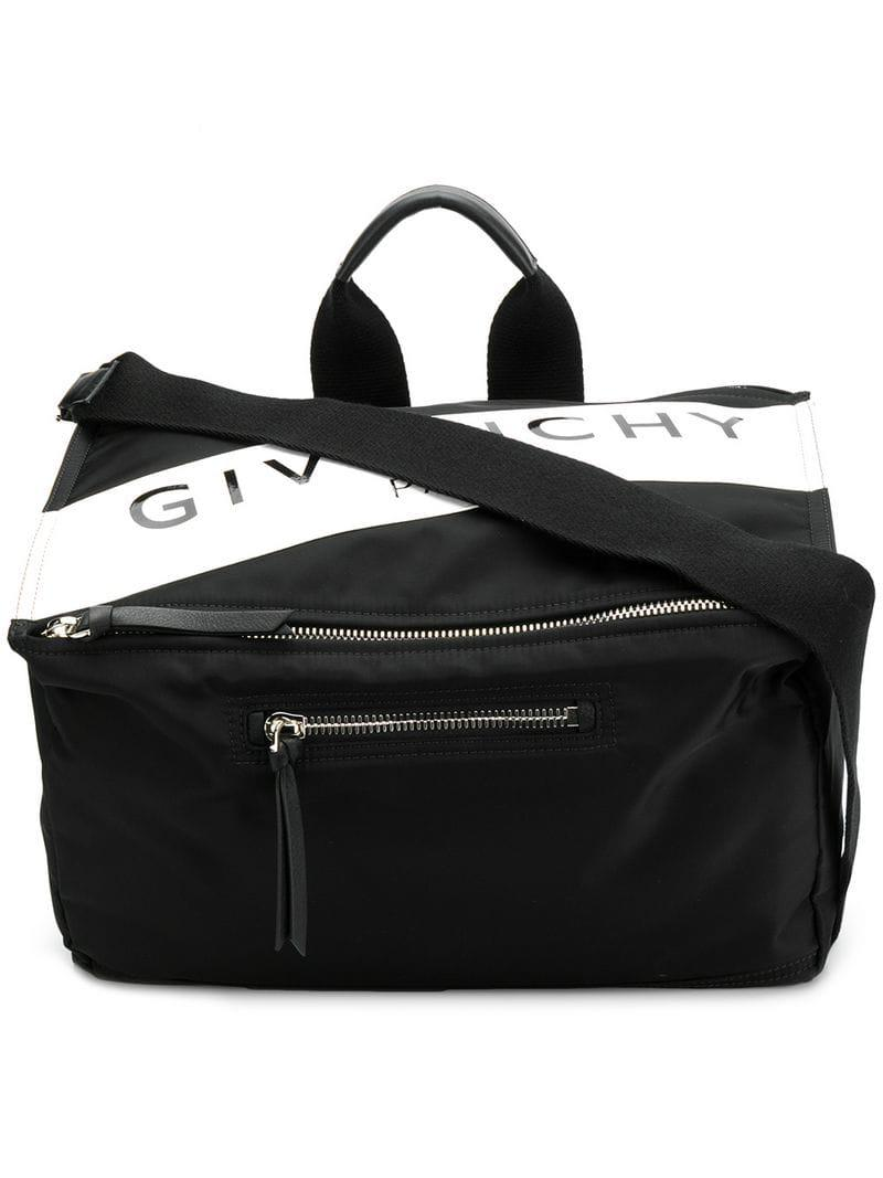 27bc9243a1a3 Givenchy Logo Box Messenger Bag in Black for Men - Lyst