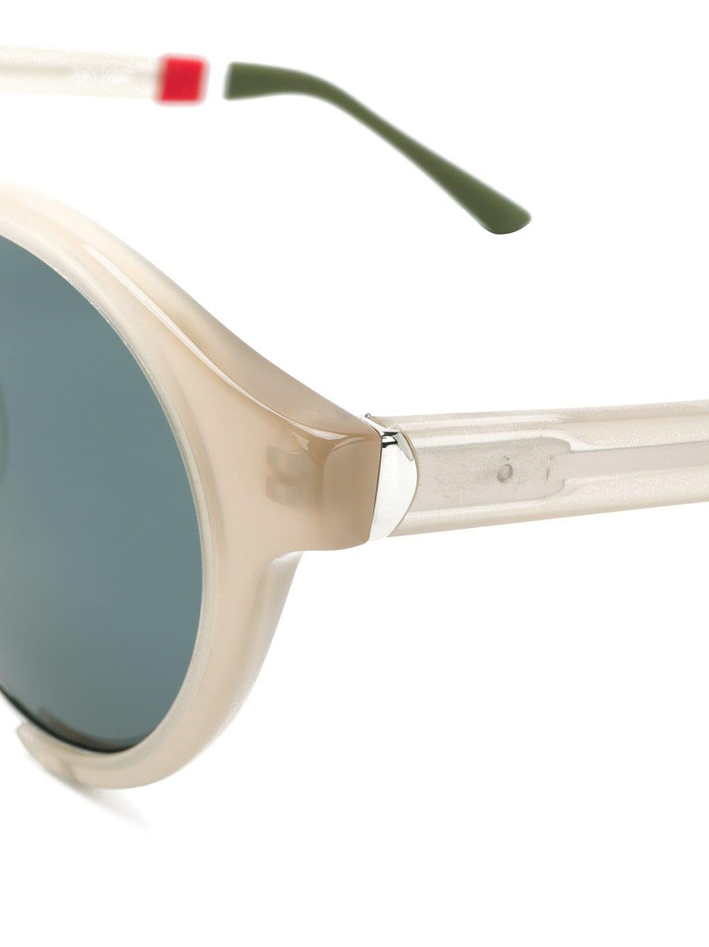 Orlebar Brown Cut Out Round Sunglasses