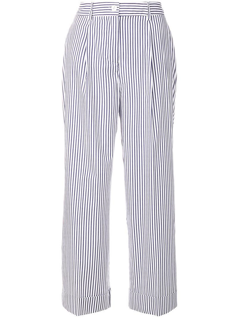 Clearance Outlet Chopin trousers - White P.A.R.O.S.H. Cheap Huge Surprise For Sale Wholesale Price Free Shipping 2018 New New Arrival 6z7zu