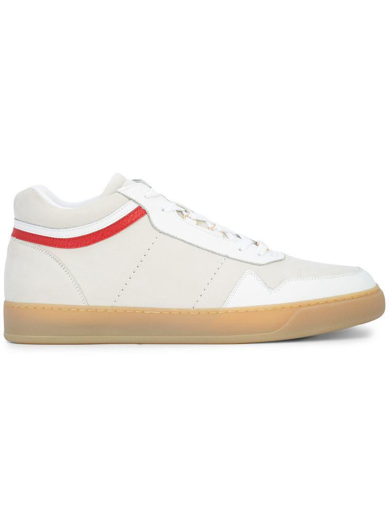 93eaa7704507 Buscemi Courtside Sneakers in White for Men - Lyst