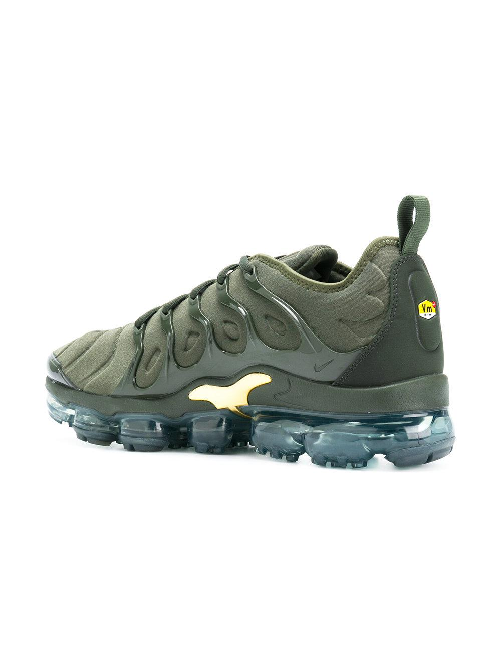 best sneakers f2462 dd3e0 Nike Green Air Vapormax Plus Tn Sneakers for men