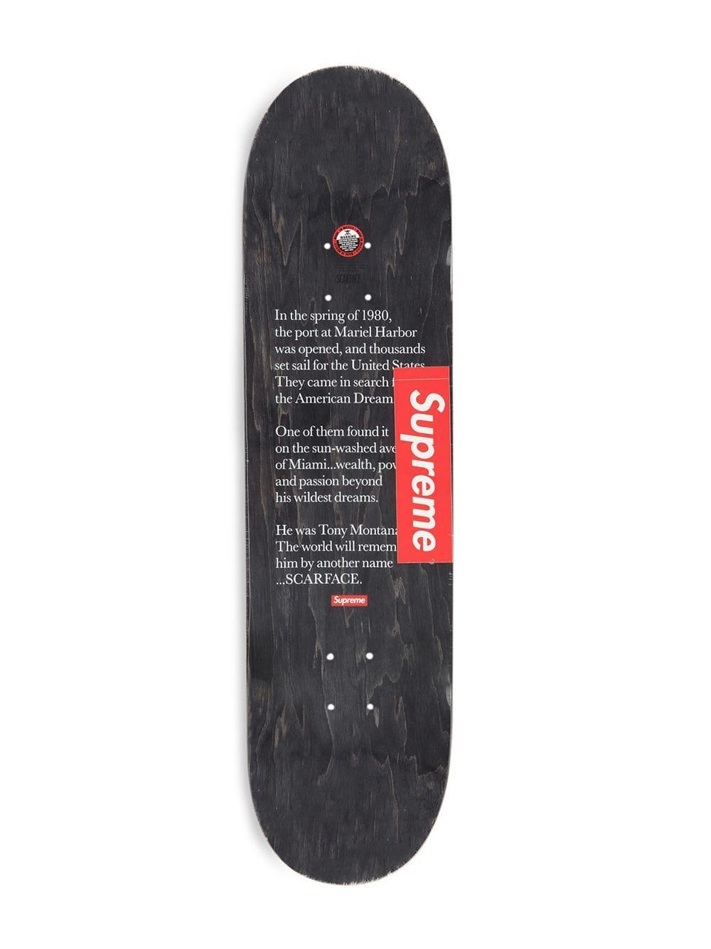 Supreme Skateboard Met Print in het Zwart voor heren