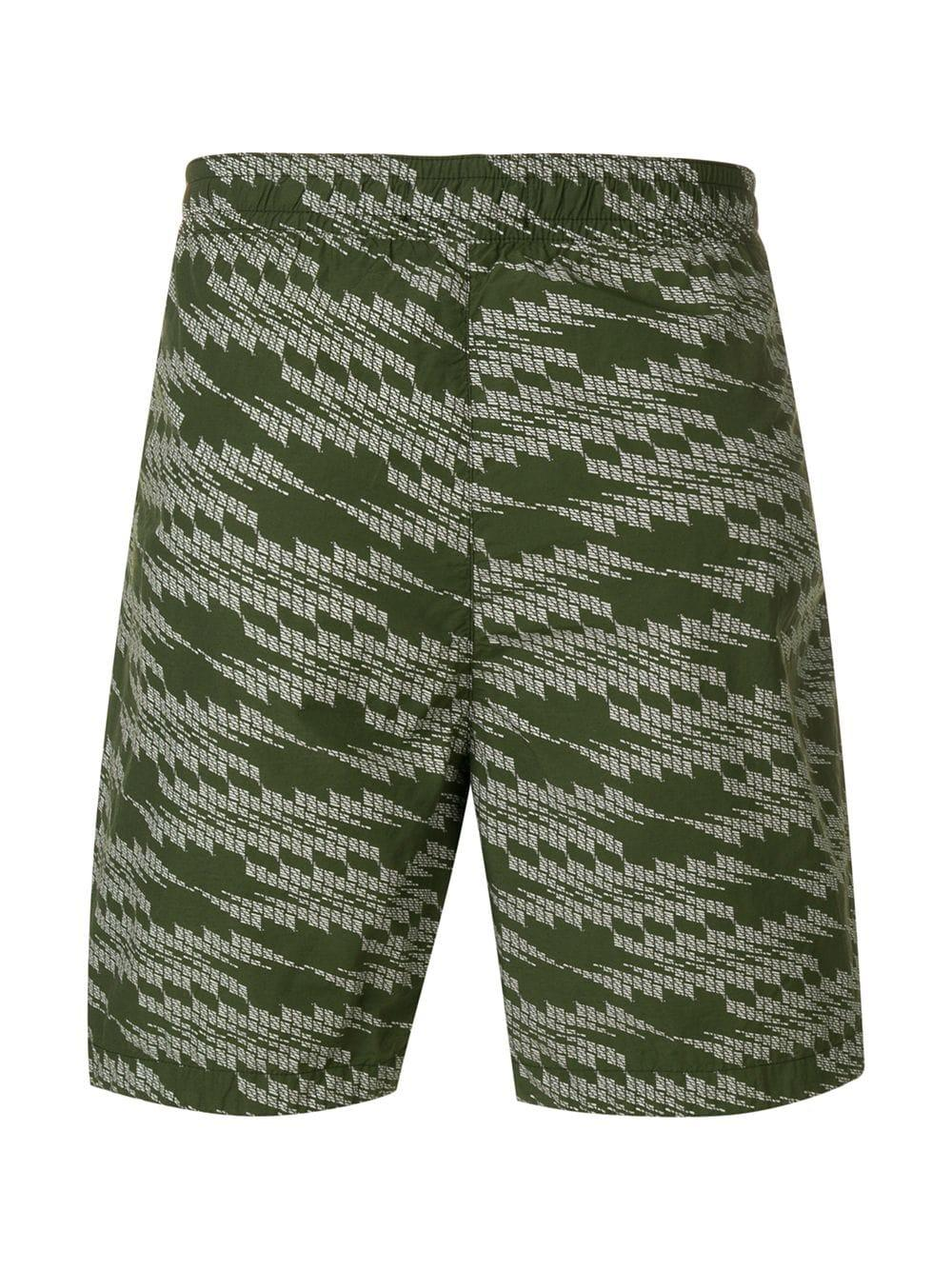 7eee09175cae9 Lyst - Stone Island Shadow Project Patterned Swimming Shorts in ...