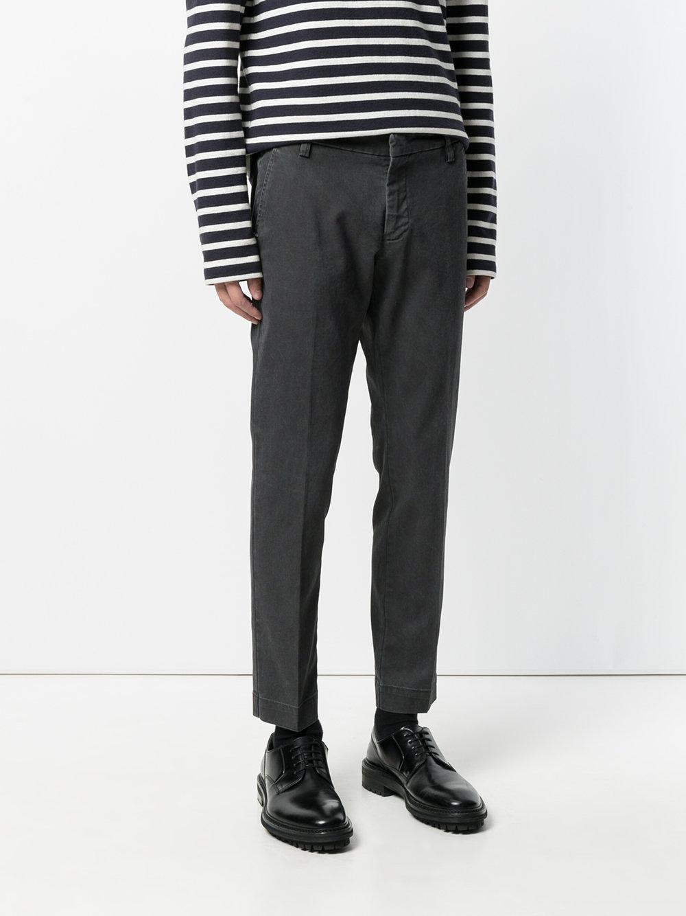 Entre Amis Denim Jeans Vestibilità Slim in Grey (Grey) for Men