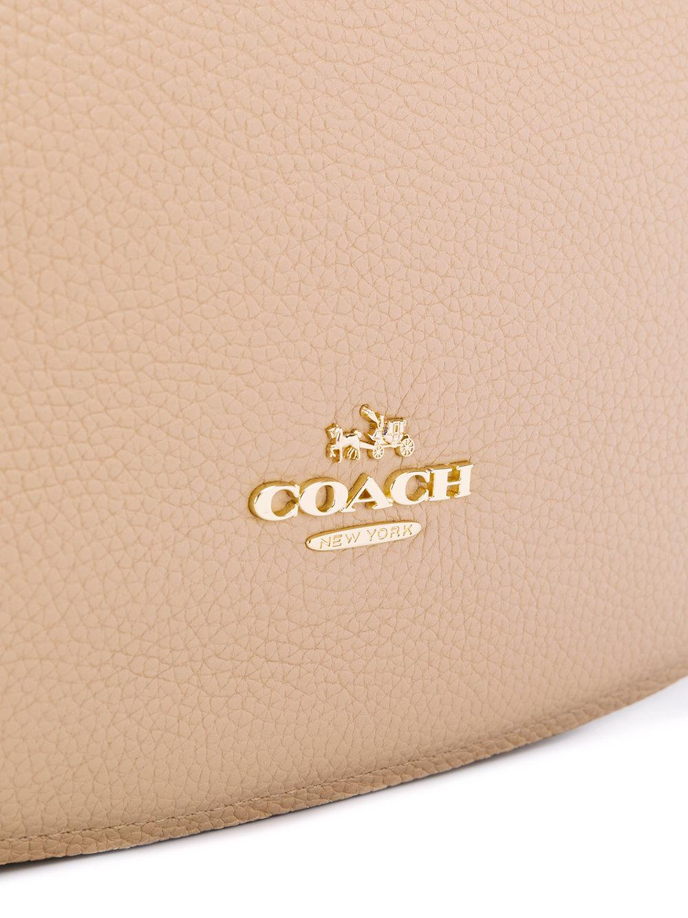 COACH Leather Chelsea Crossbody Bag