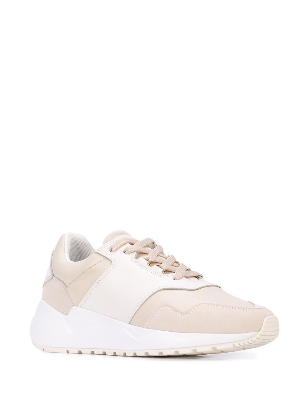 Zapatillas con diseño de dos tonos Buscemi de Ante de color Blanco