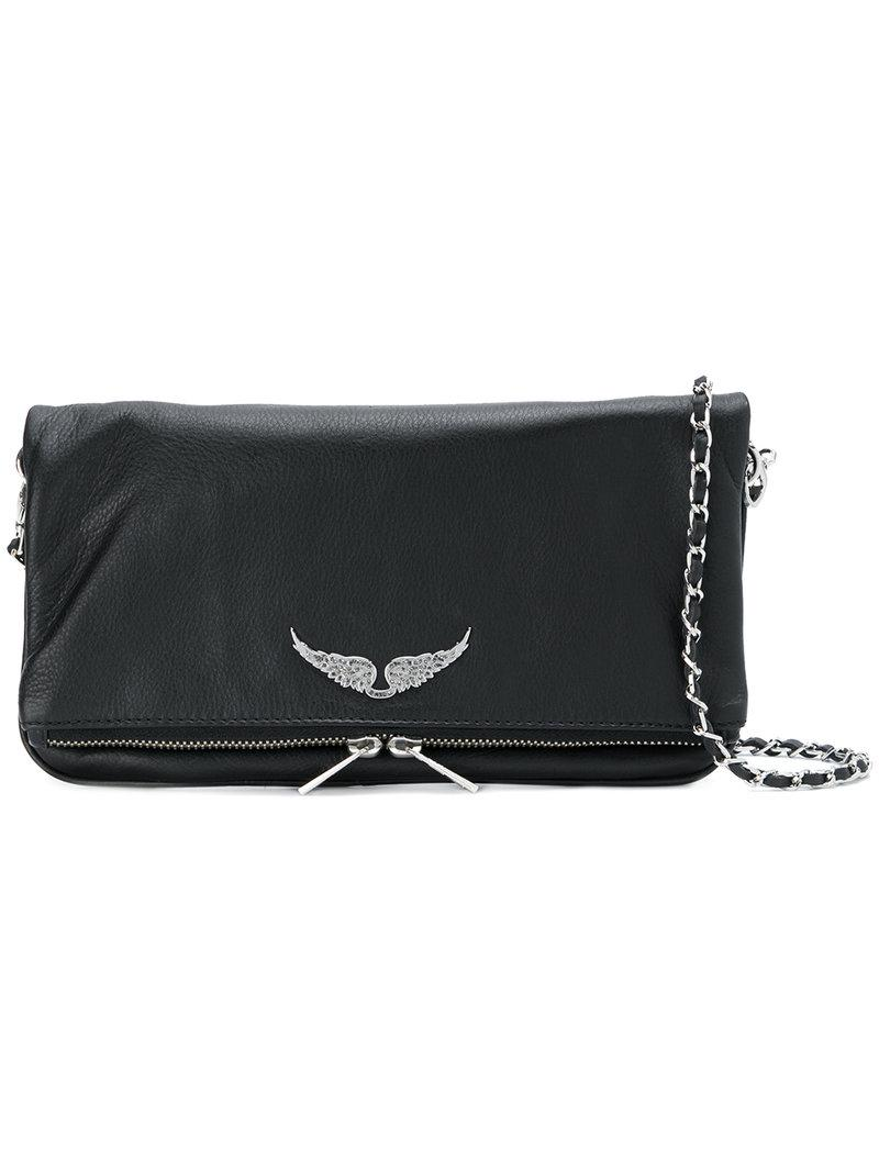 Zadig Amp Voltaire Rock Bag In Black Lyst