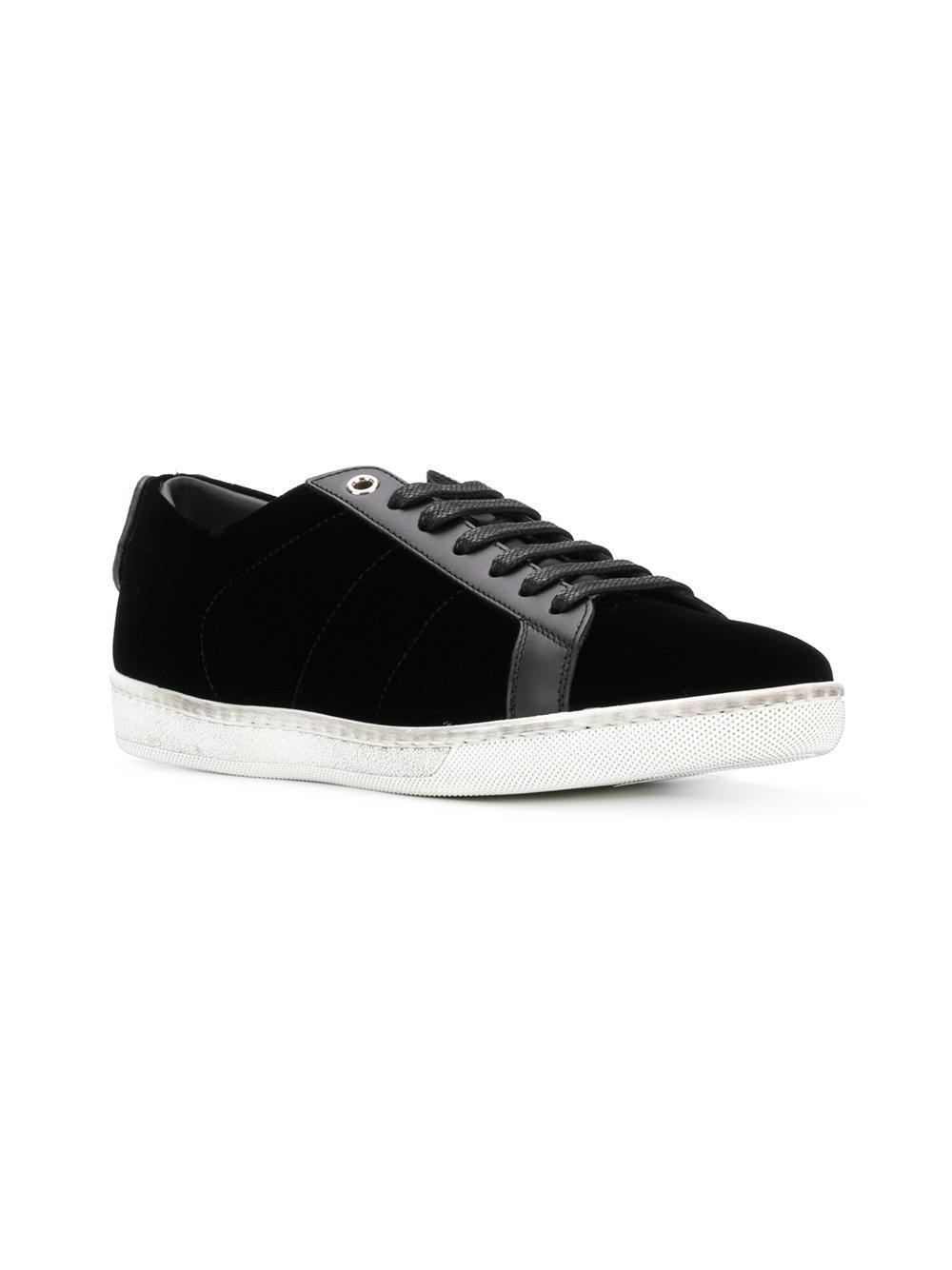 Saint Laurent Signature Court Classic SL/01 Lips sneakers - Black farfetch neri i4uvmozQ
