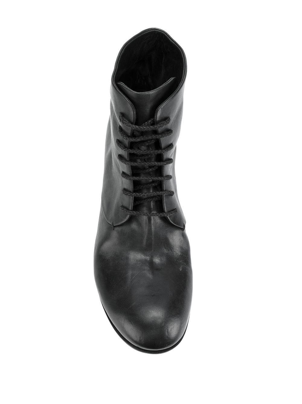 Botines en piel de caballo A Diciannoveventitre de Cuero de color Negro para hombre