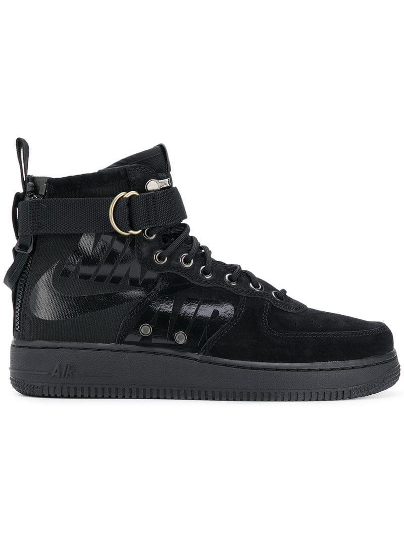 499415709055 Lyst - Nike Air Force 1 Special Field Mid Sneakers in Black for Men ...