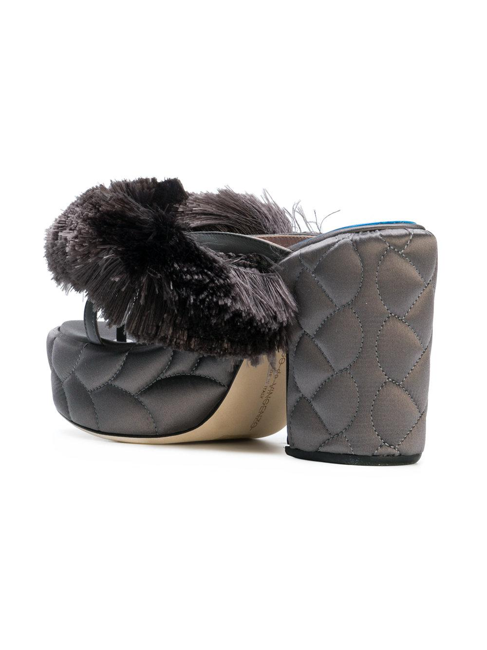 Sandales Texture - Gris Marco De Vincenzo TeGgSii6Y