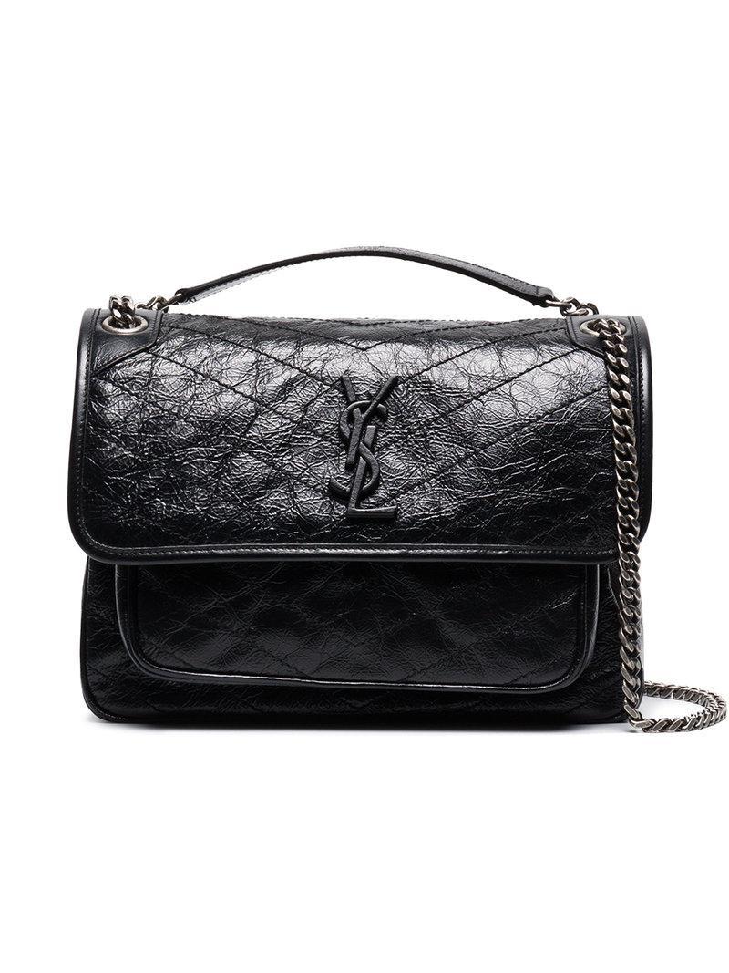 Saint Laurent Niki Monogram Bag in Black - Save 8% - Lyst 86c00d7e67d1d