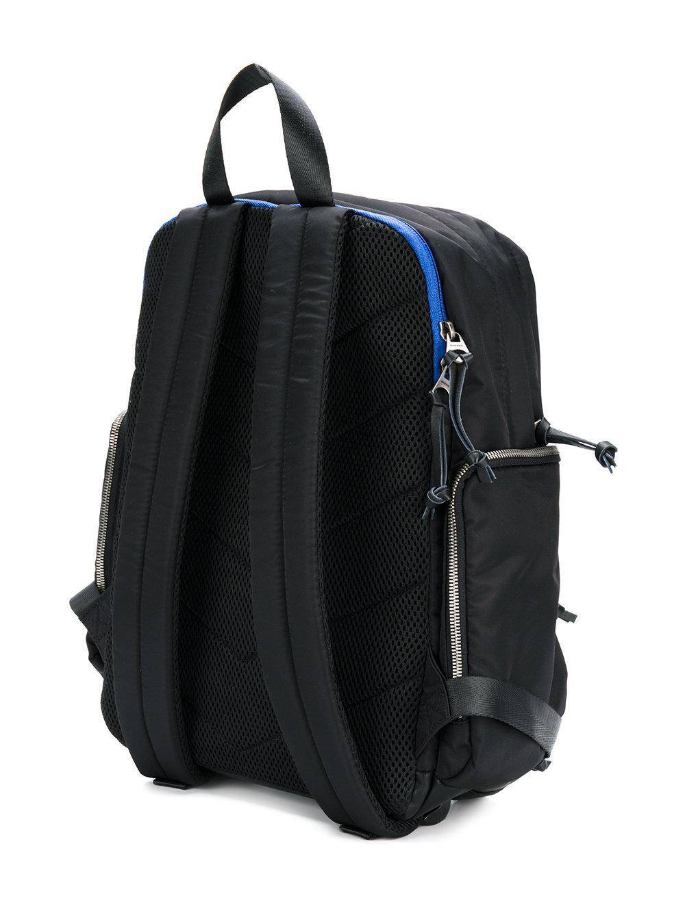 1f7d9034f3 Lyst - DIESEL Contrast Backpack in Black for Men