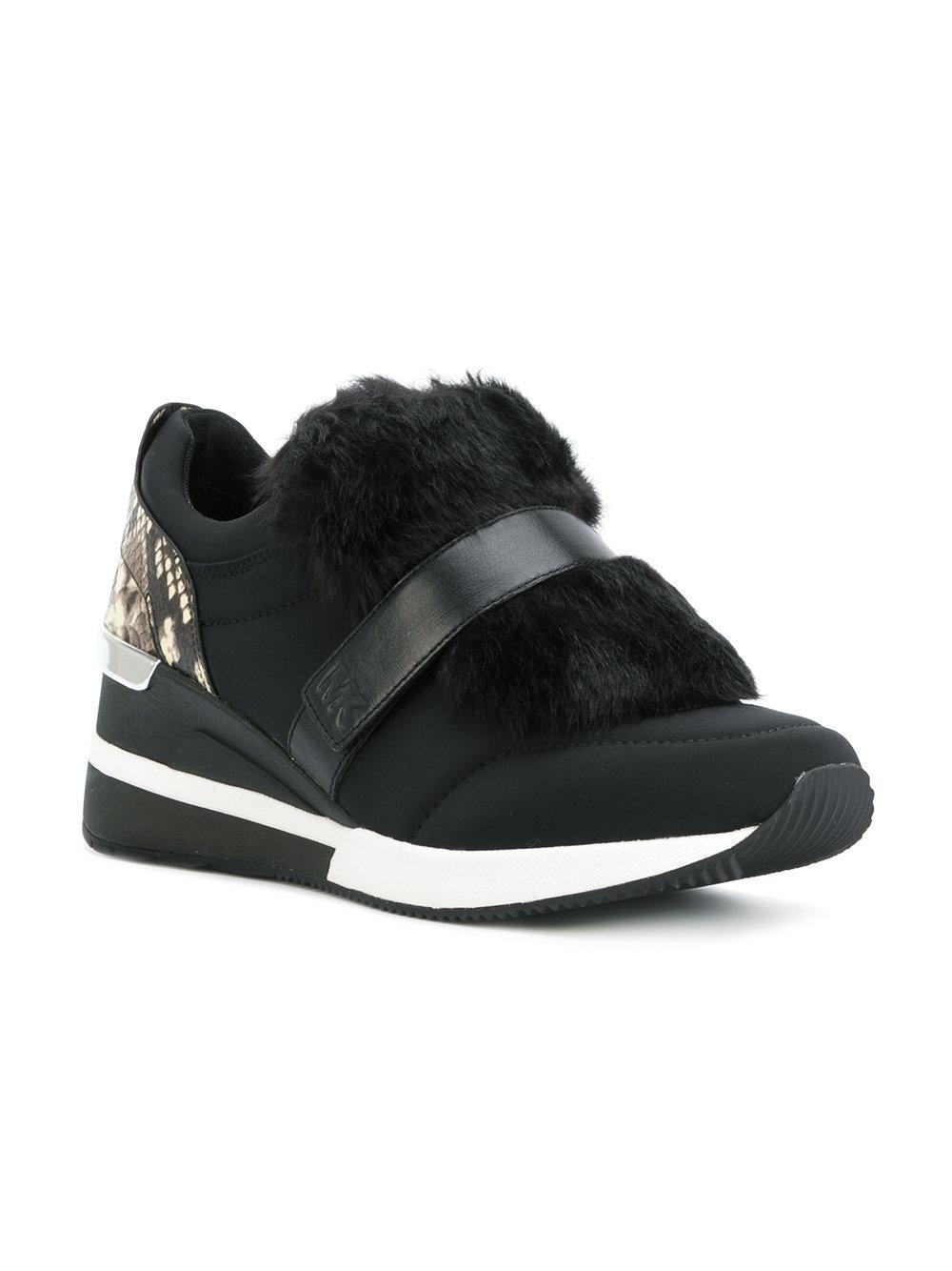 MICHAEL Michael Kors Maven Sneakers in Black