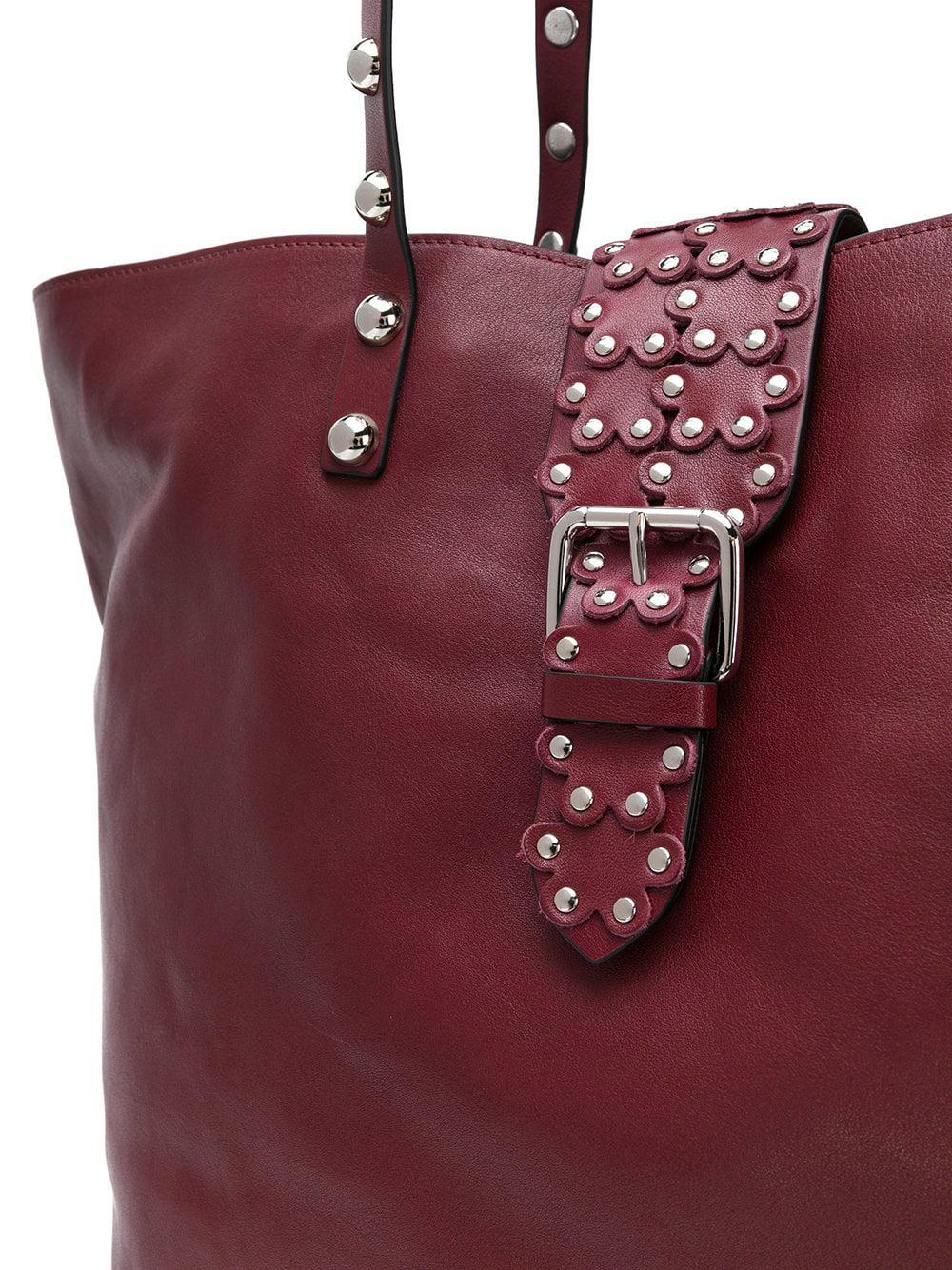 623402b9b3 RED Valentino - Red(v) Studded Oversized Tote - Lyst. View fullscreen