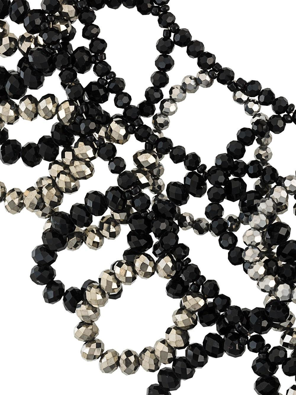 Night Market beaded necklace - Black yYcDY