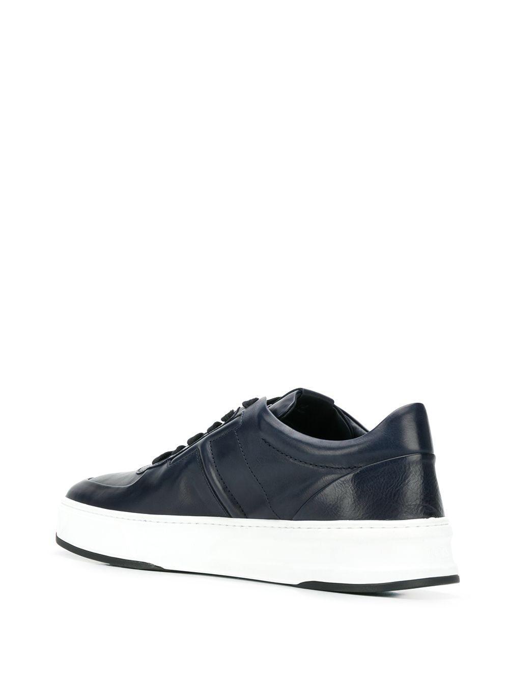 Zapatillas bajas con monograma Tod's de Cuero de color Azul para hombre