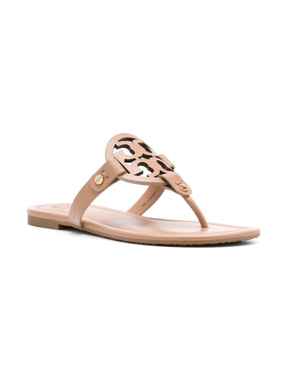 96e71294c2f0 Tory Burch Miller Sandals - Lyst