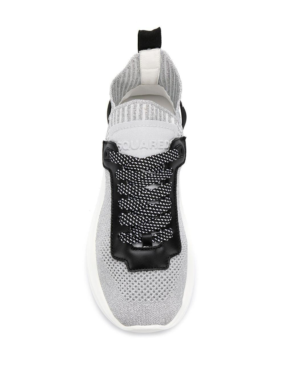 Zapatillas Speedster DSquared² de Tejido sintético de color Metálico