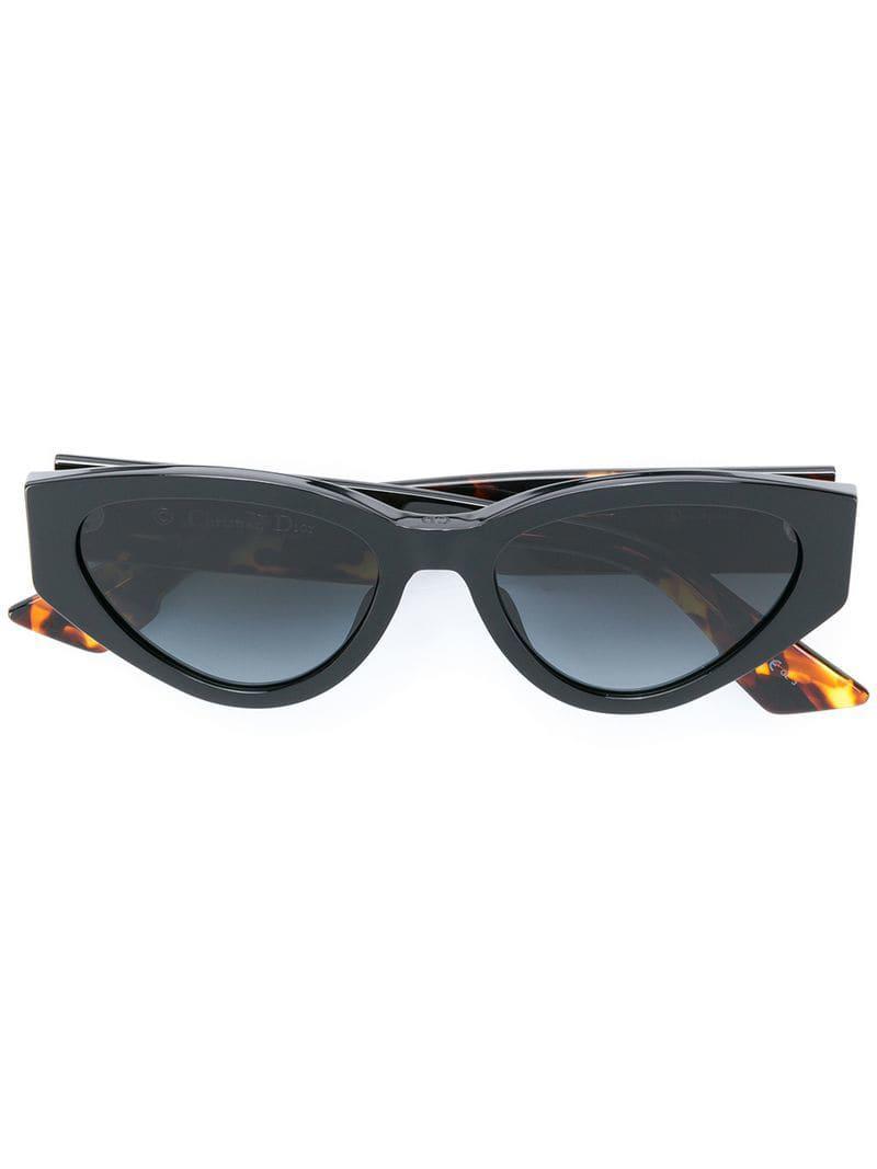 679535de3b Lyst - Dior Spirit 2 Cat-eye Sunglasses in Black