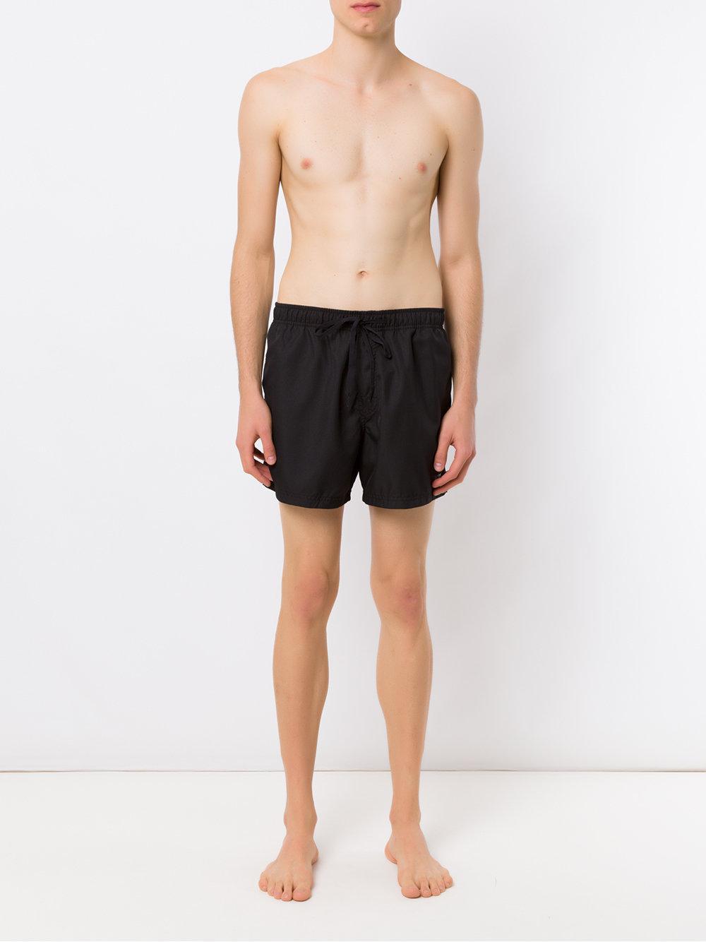 58a1d95be1 Osklen Beach Shorts in Black for Men - Lyst