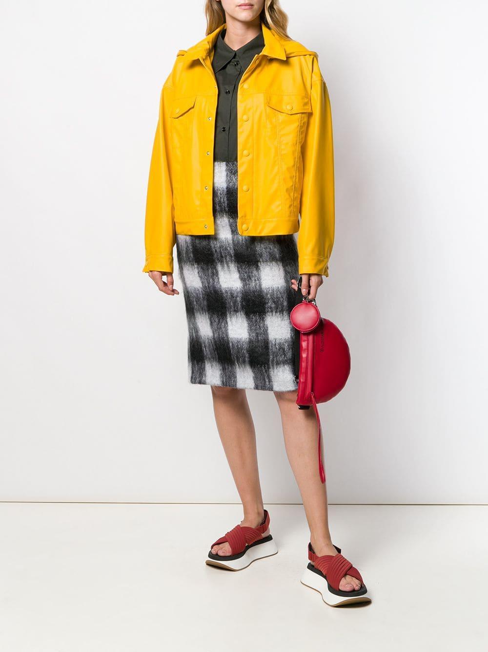 Vestido camisero oversize MM6 by Maison Martin Margiela de Algodón de color Verde