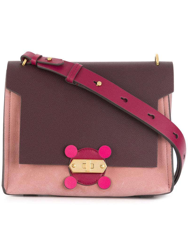 Shopping Online Cheap Online Circulus shoulder bag - Brown Anya Hindmarch Outlet Best LbXnTXCz