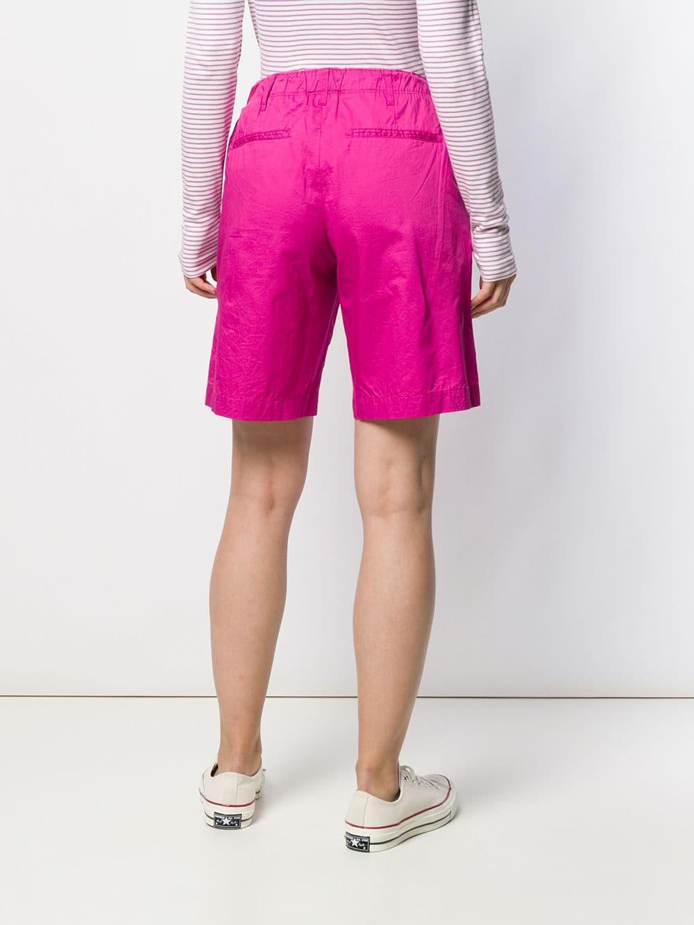 Short à taille à lien de resserrage Coton Closed en coloris Rose