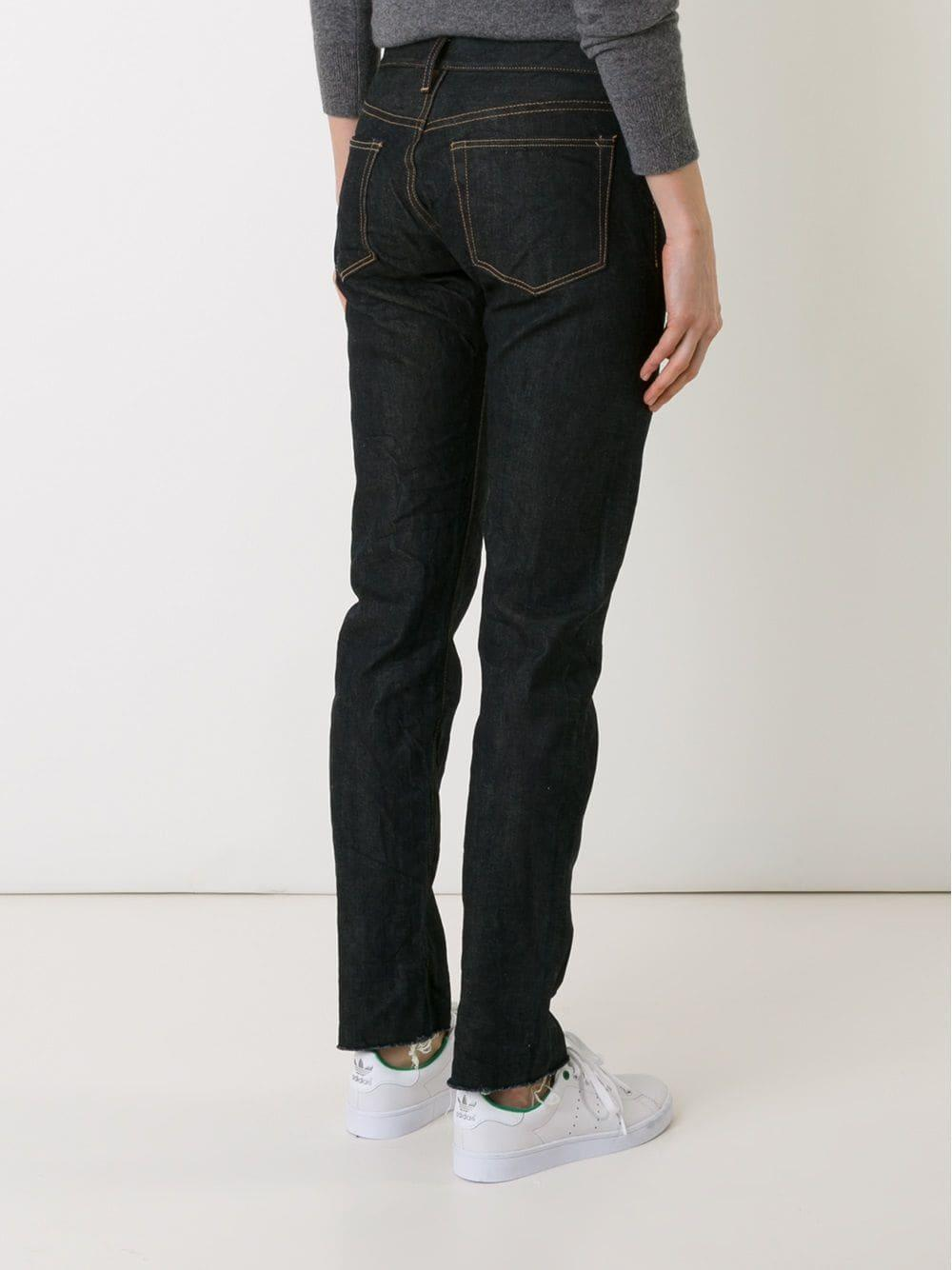 Simon Miller Denim - Straight Leg Jeans - Women - Cotton/polyurethane - 31 in Blue