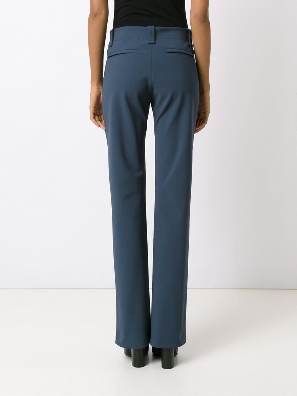 wide leg trousers - Blue Gloria Coelho GQtuW3W