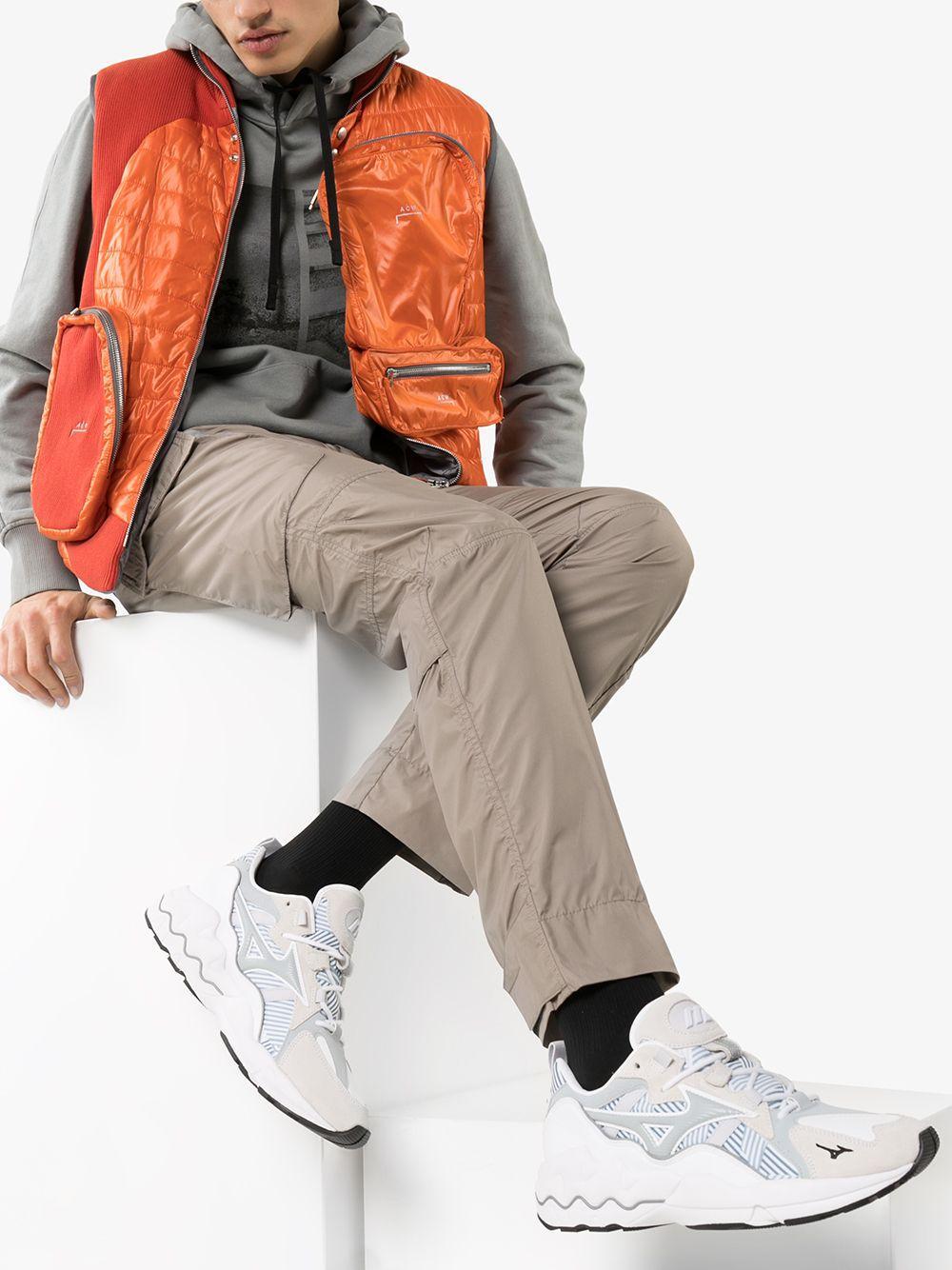 Wave Rider 1 Urban Camo sneakers Mizuno de Tejido sintético de color Blanco para hombre