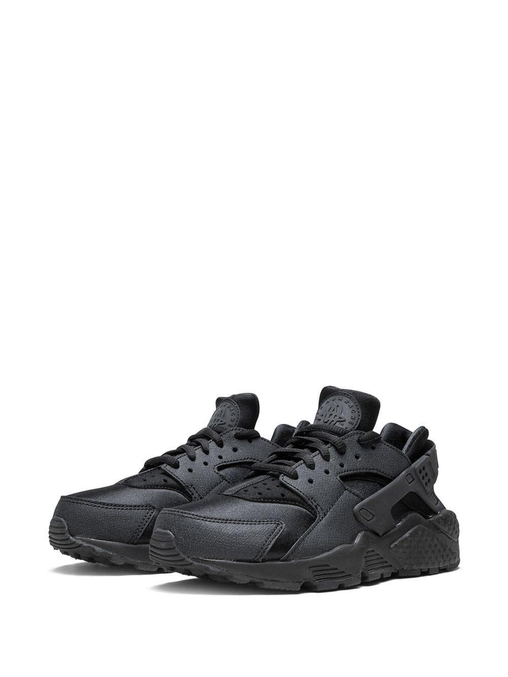 Baskets Air Huarache Run Cuir Nike en coloris Noir 63lA
