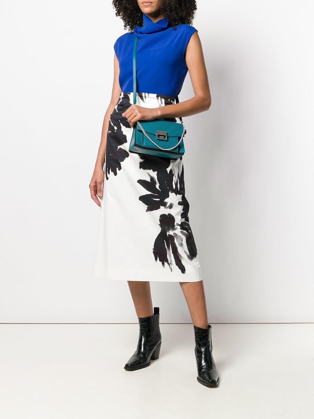 fcc4805431 Givenchy - Blue Gv3 Small Bag - Lyst. View fullscreen