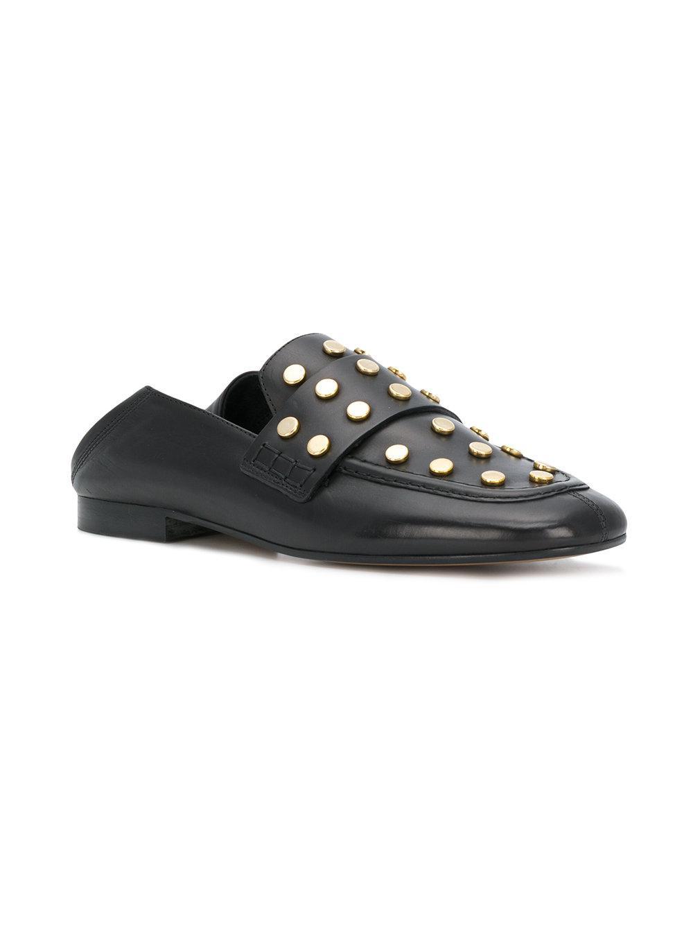 847b5b3c3ca Isabel Marant Feenie Loafers in Black - Save 30% - Lyst