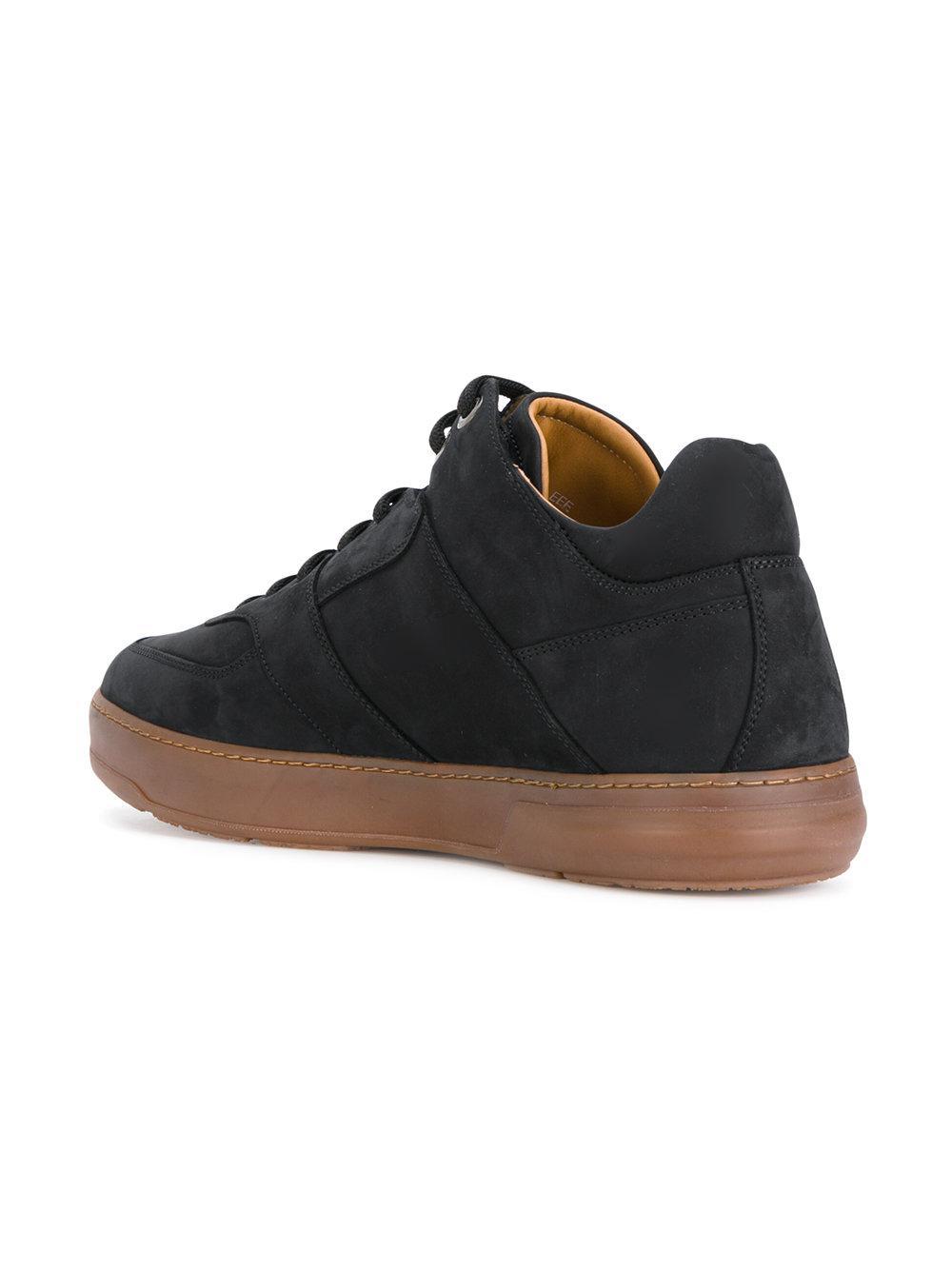 fa3e7c872b472 Lyst - Ferragamo Monroe Sneakers in Black for Men