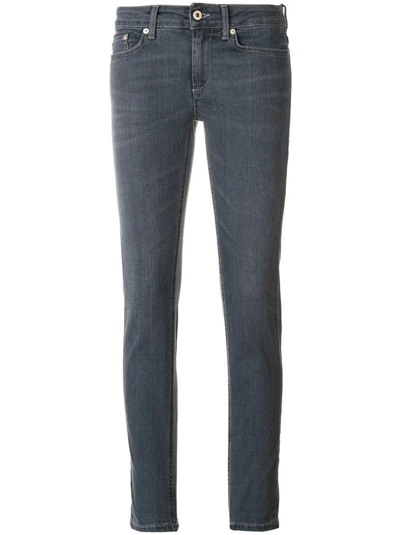 slim-fit jeans - Grey Dondup Cheap Sale Looking For Quality Free Shipping Outlet 2DsrpE2