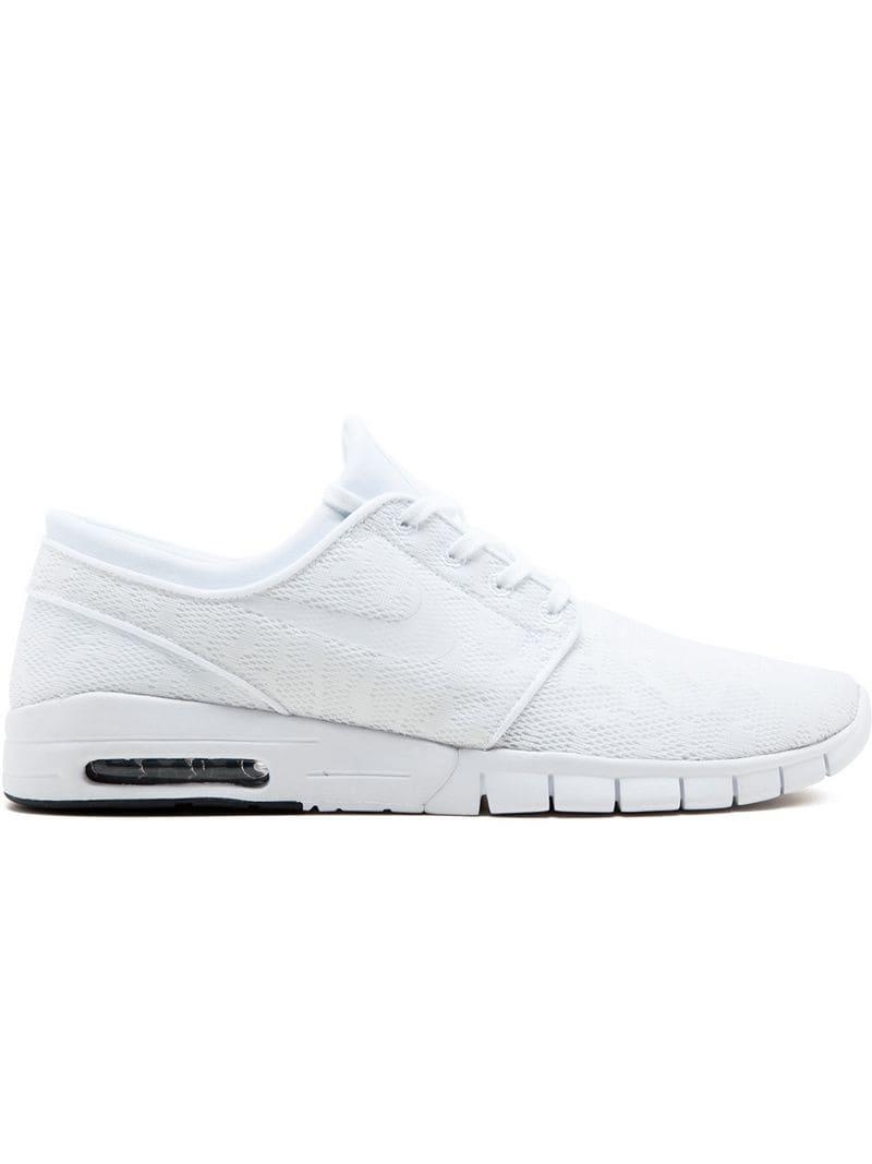 21d83ff7272e Lyst - Nike Stefan Janoski Max Sneakers in White for Men