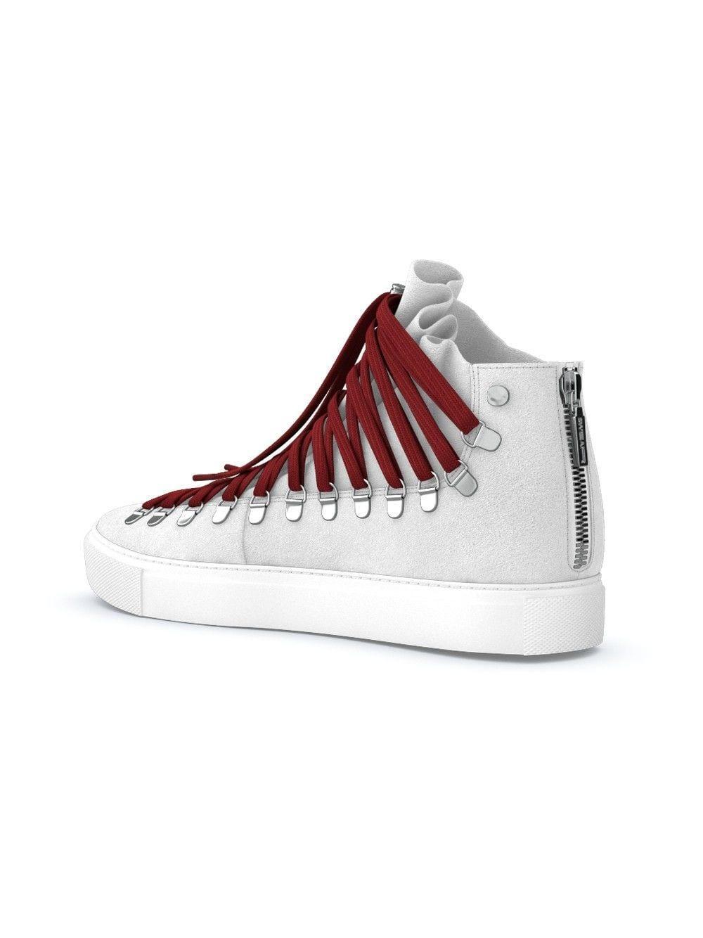 Swear X Joel Gallucks Redchurch Laced Hi-top Sneakers in White for Men