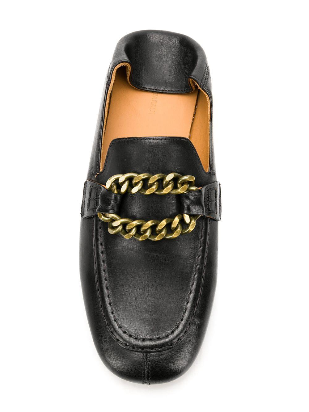 0dbe67a711c Isabel Marant - Black Firlee Loafers - Lyst. View fullscreen