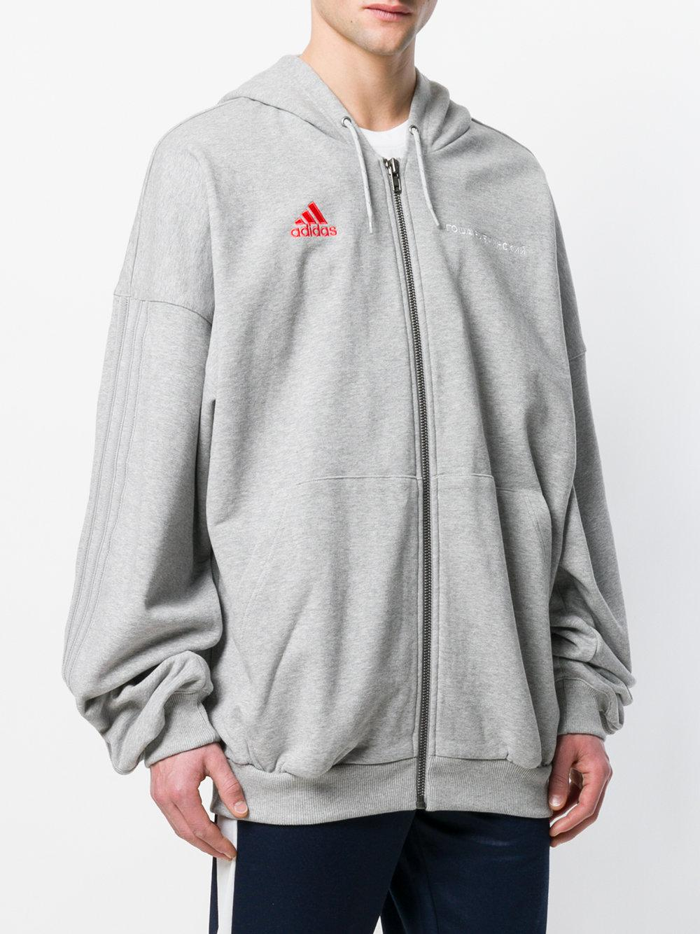 100% authentic various colors promo code X Adidas Logo Embroidered Hoodie