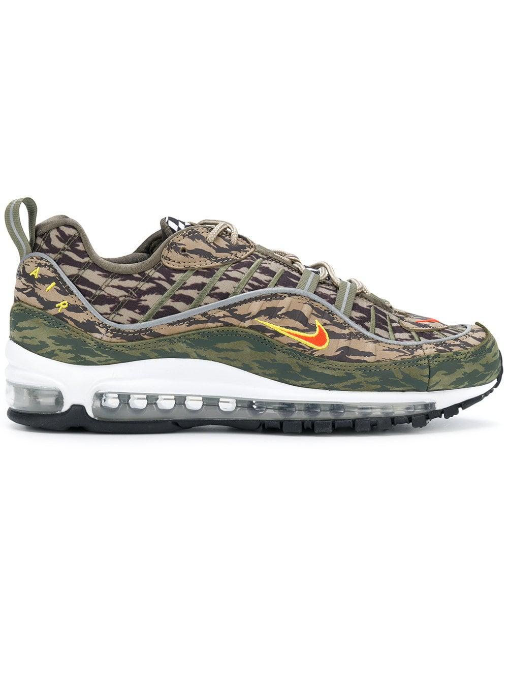 10fa3ae1ffe3 Nike Air Max 98 Sneakers in Green for Men - Lyst