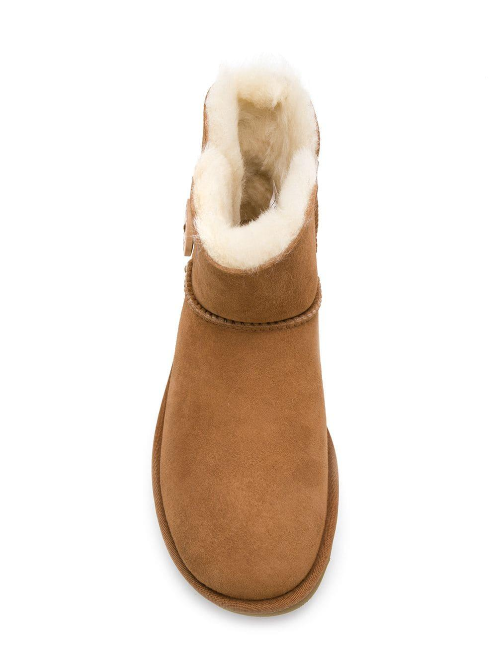 Botas Bailey mini UGG de Caucho de color Marrón